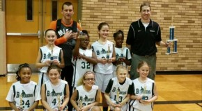 Bombers 4th Grade Girls Defeat Incarnate Word to Win Title
