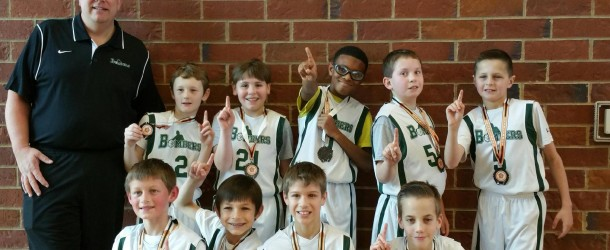 5th Grade Boys Green Continue to Roll