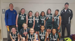 5th Grade Lady Bombers Finish 2nd in Troy MAYB Tournament